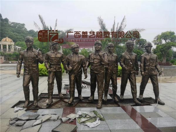 来宾合山市文化广场雕塑