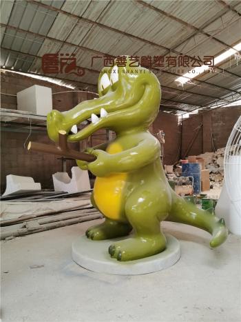 桂林市玻璃钢雕塑制作工程