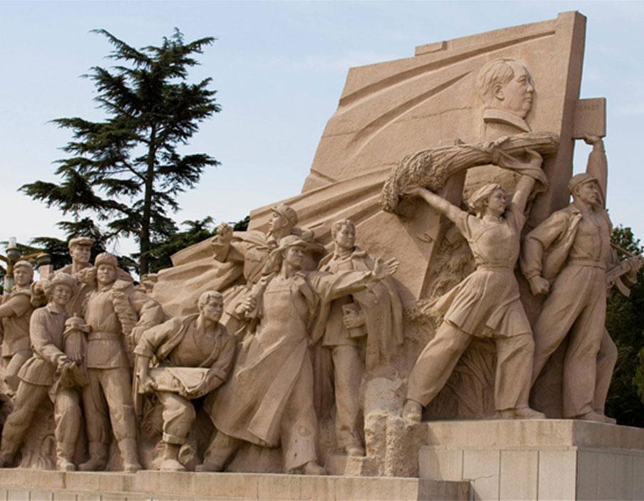 防城港红色主题雕塑设计