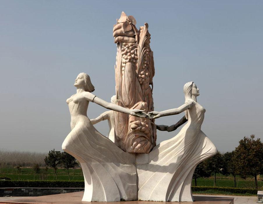 主题农耕雕塑工程