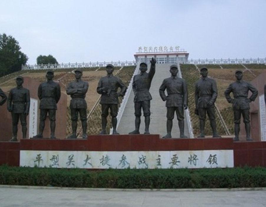 防城港红色主题雕塑