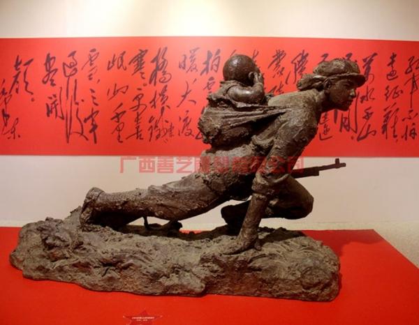 红色主题雕塑工程
